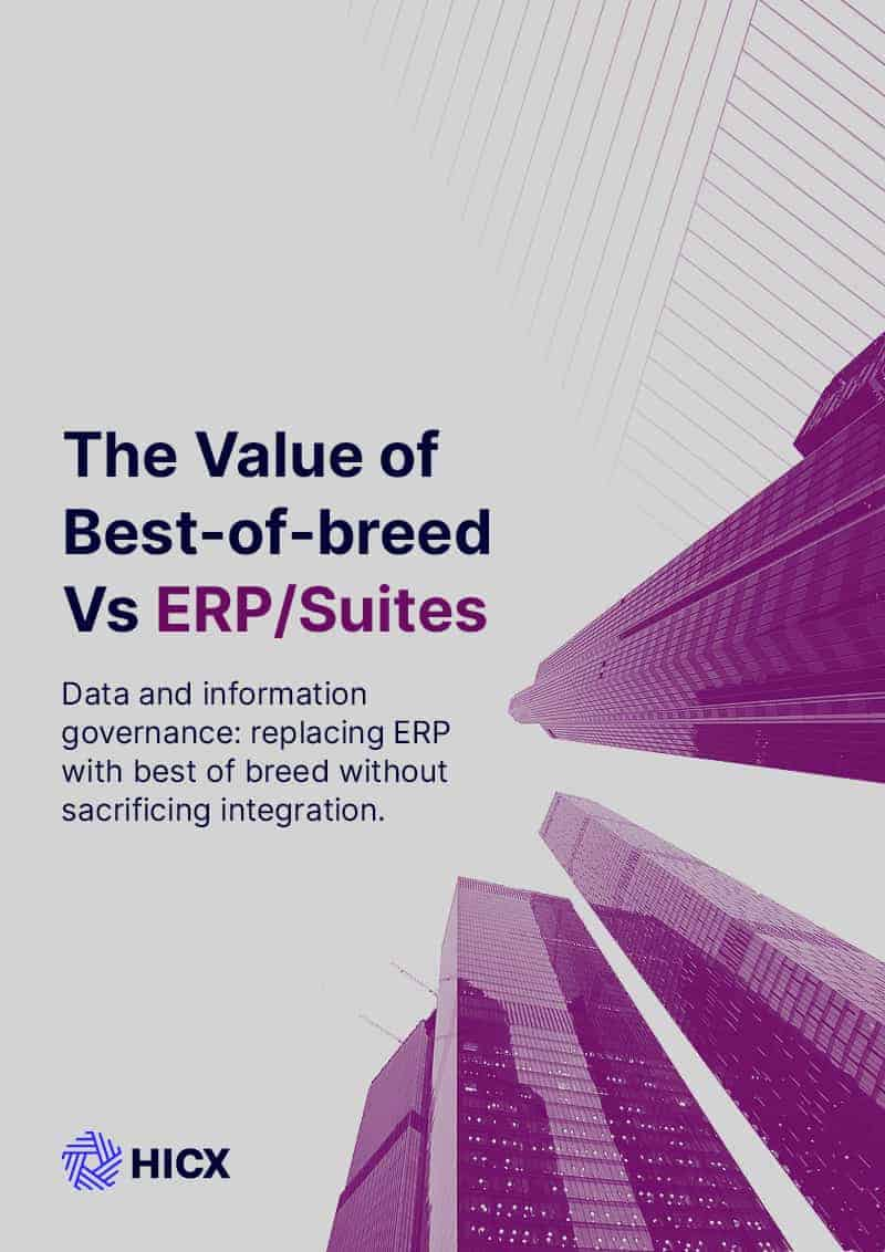 The Value of Best of Breed vs ERPSuites