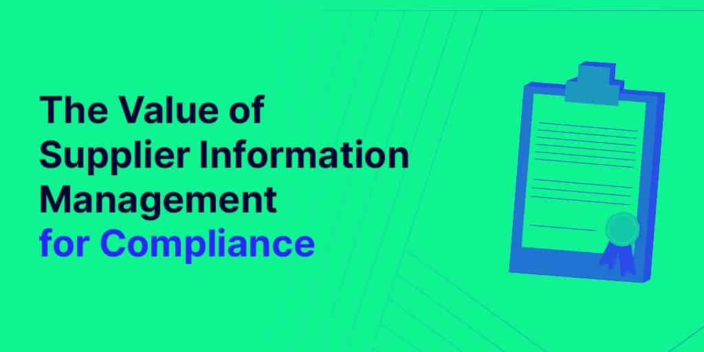 supplier compliance