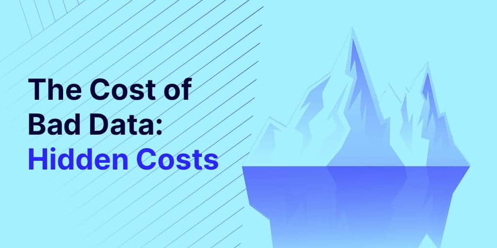 The cost of bad supplier data Hidden costs