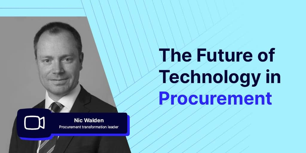 what is the future of procurement technology