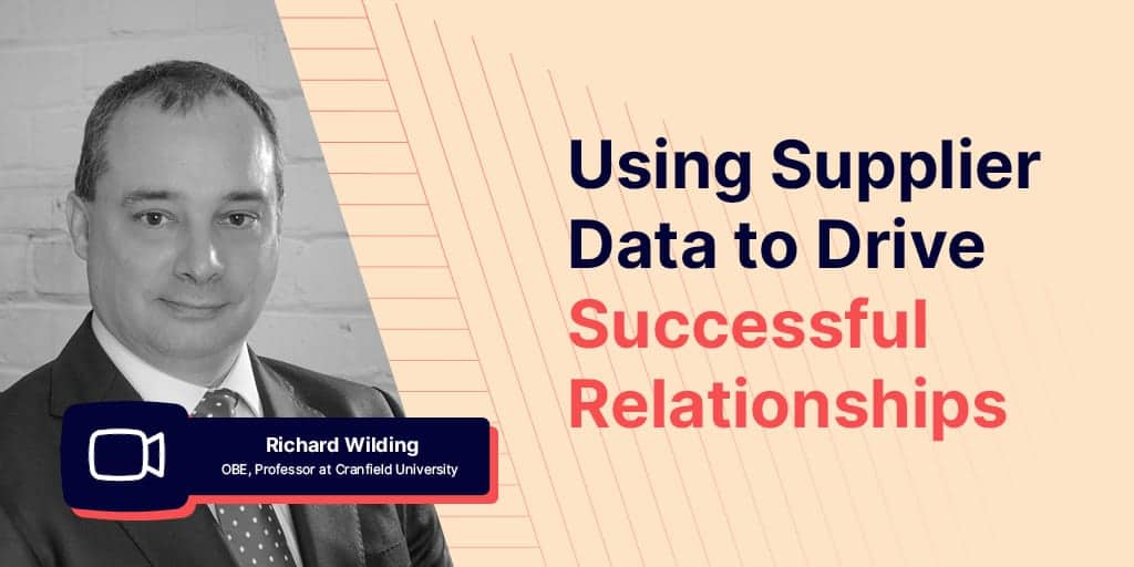 Using Supplier Data
