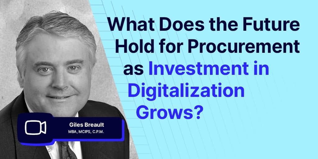how to approach digital transformation in procurement