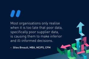 How bad supplier data undermines your decision-making - How bad supplier data undermines your decision-making