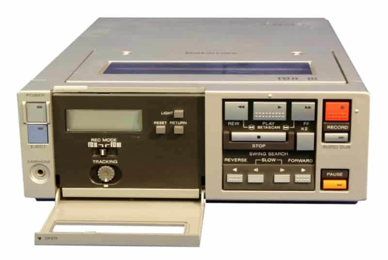 Sony Betamax old technology