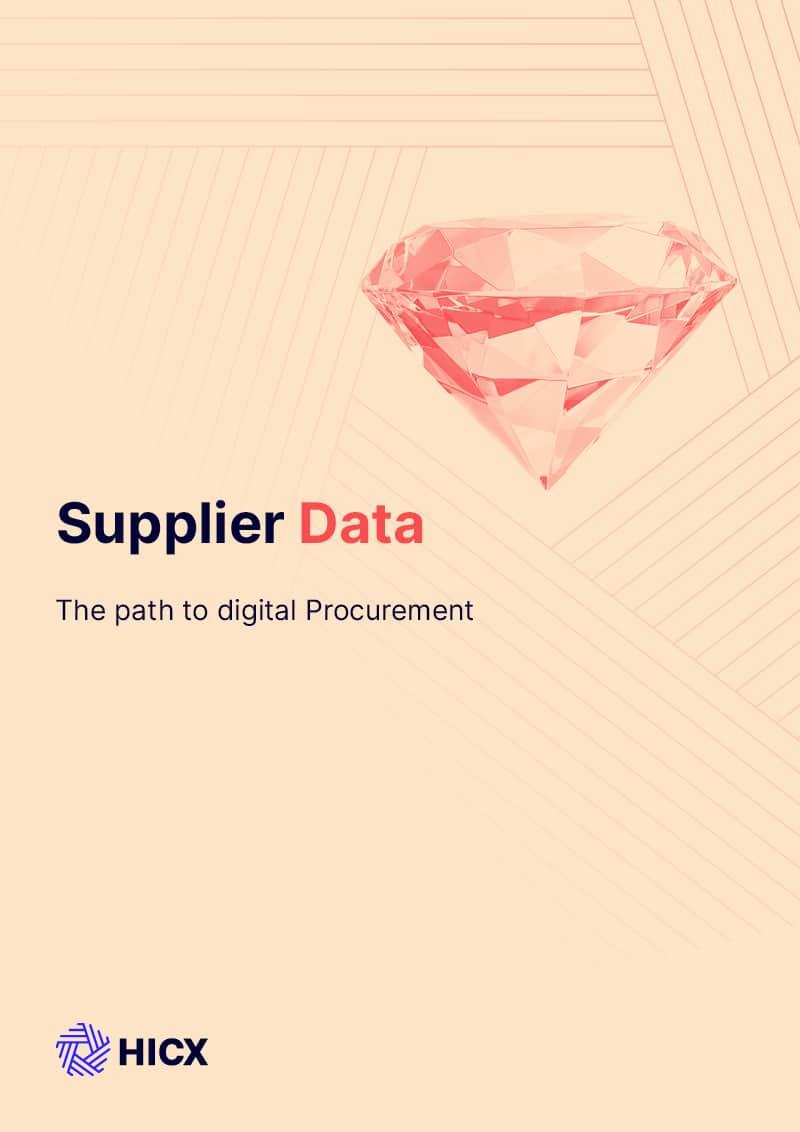 Supplier Data The Path to Digital Nirvana
