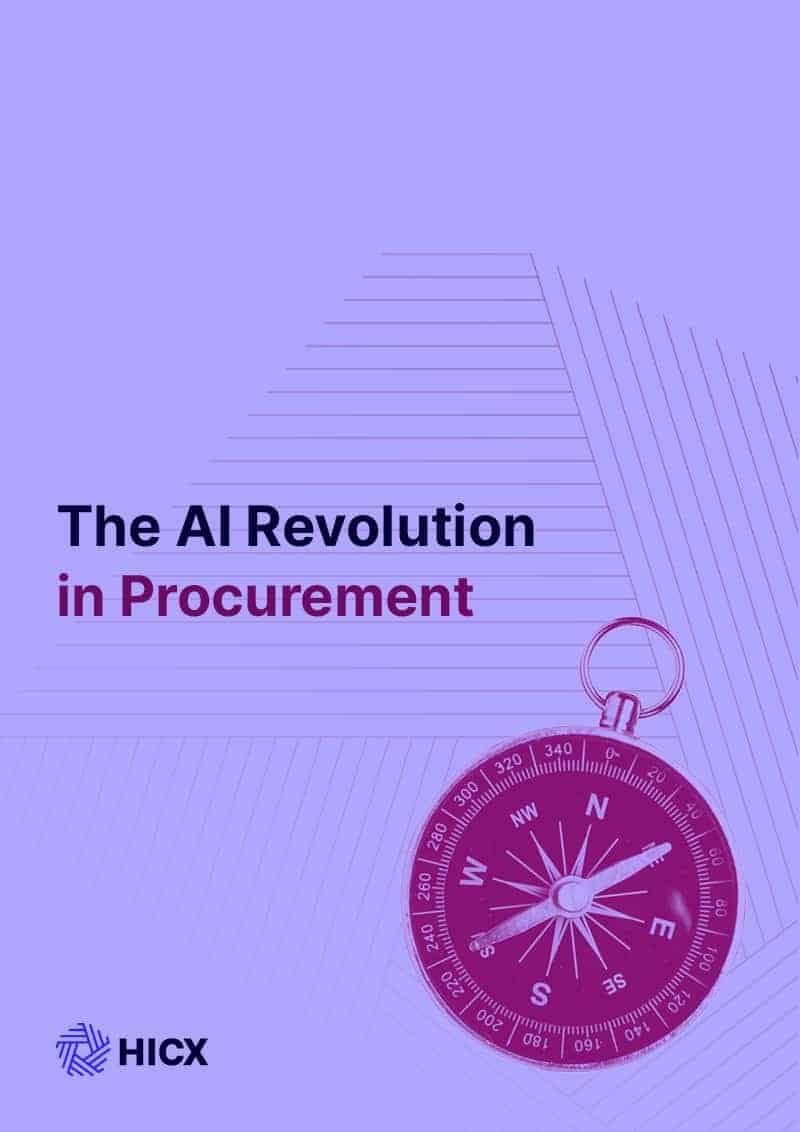 The AI Revolution in Procurement