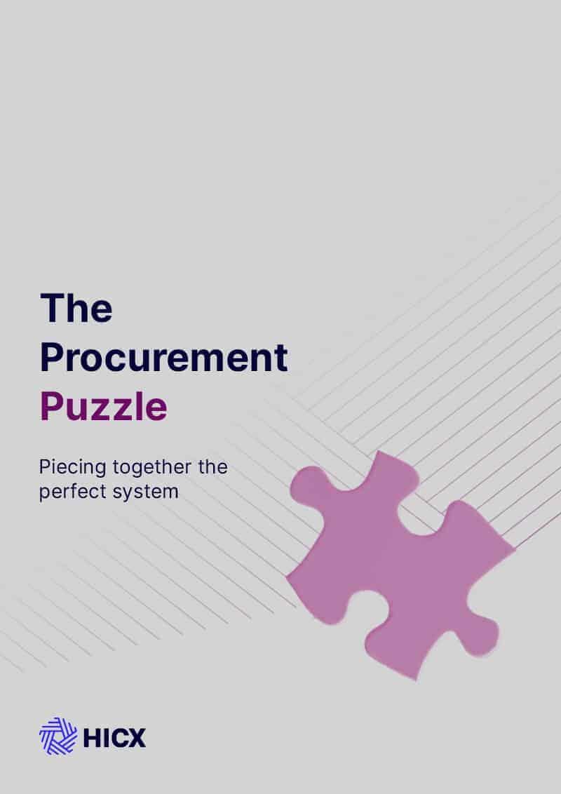 The Procurement Puzzle - The Procurement Puzzle