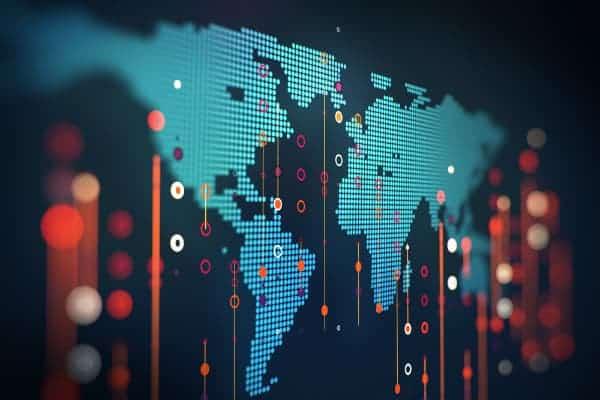 Master data world map