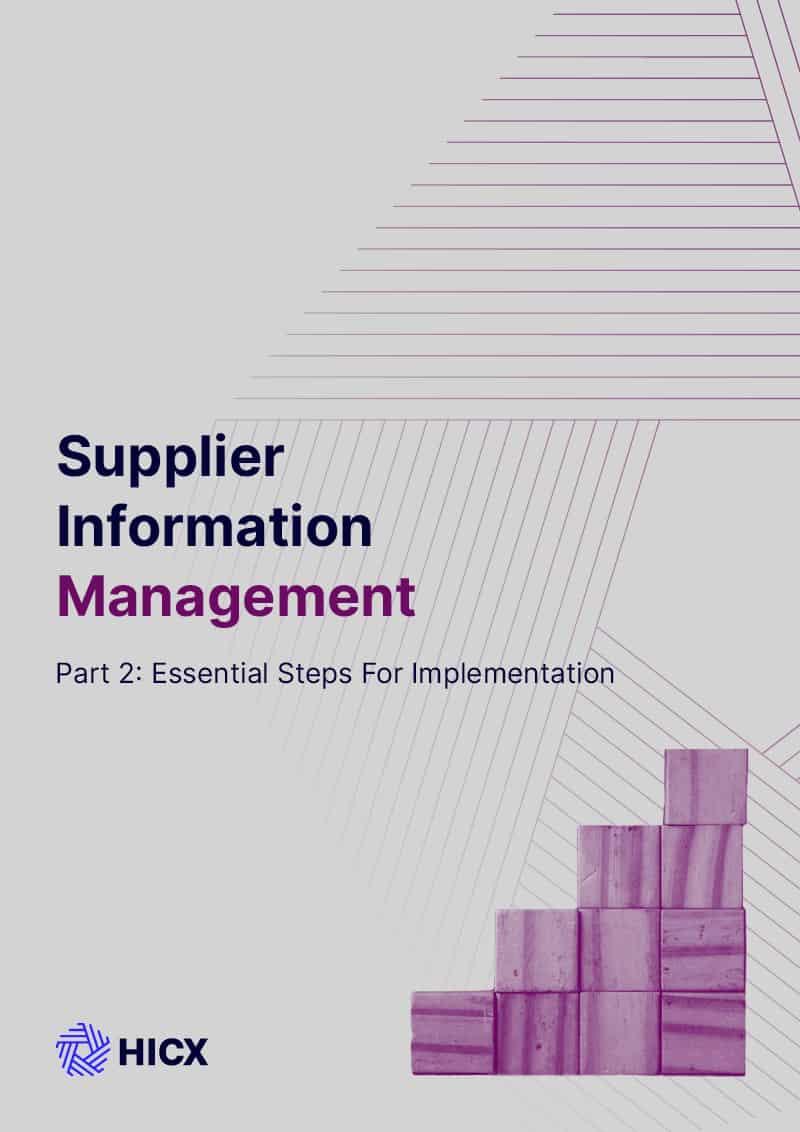 Supplier Master Data Management – Part 2 – Essential steps