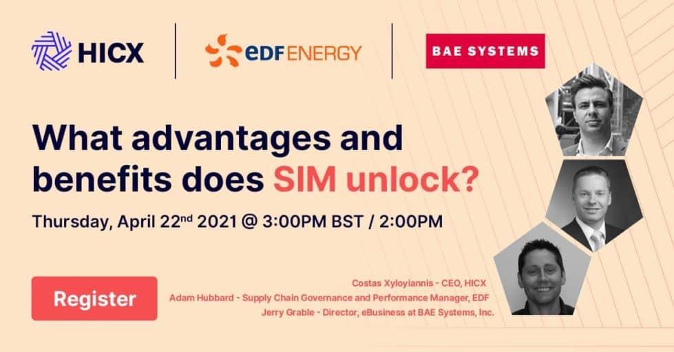 - EDF & BAE: What Advantages & Benefits Supplier Information Management Unlocks