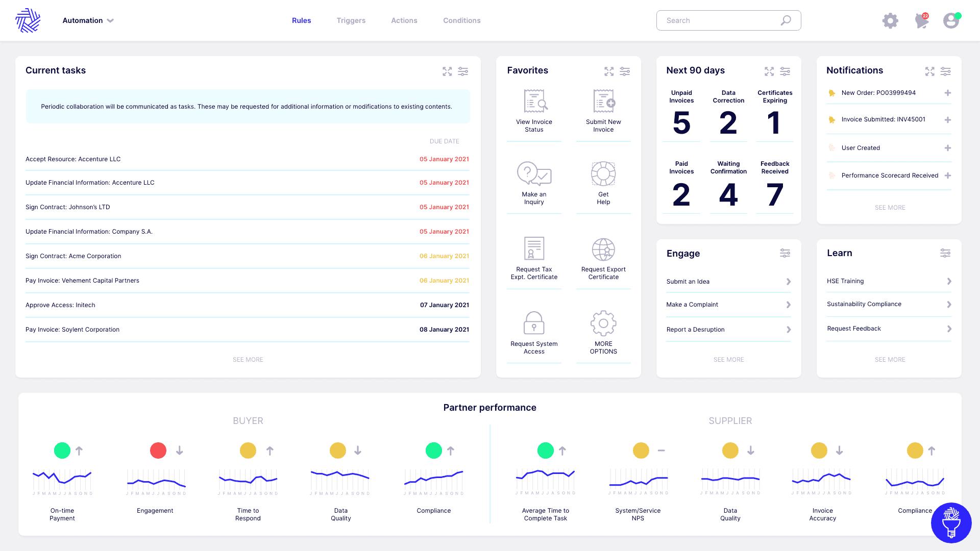 supplier portal software