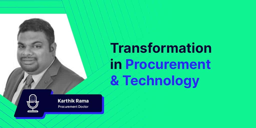 Transformation in Procurement & Technology Blog