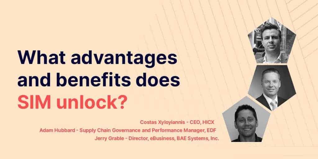 What value does Supplier Information Management unlock