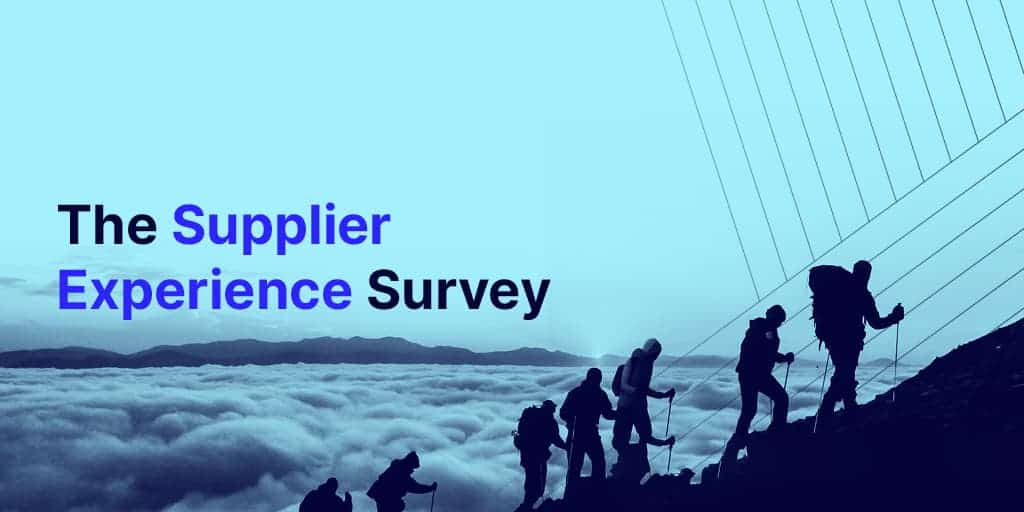 Infographic: Supplier Experience Survey